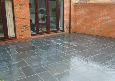 Patio in Worcester