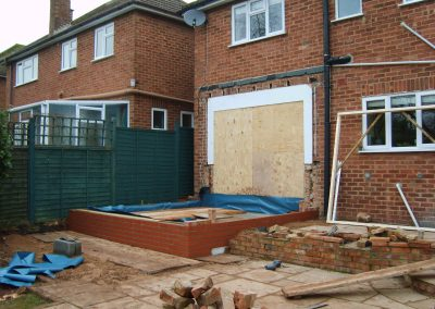 Worcester extension 2011: Before